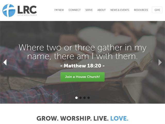 church website - Church Website Design Ideas